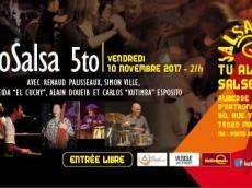 Sabrosalsa 5to Concert Salsa le vendredi 10 novembre 2017, 75020 Paris