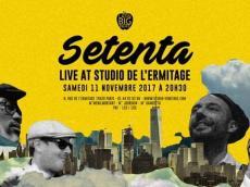 Setenta Concert Salsa le samedi 11 novembre 2017, 75020 Paris