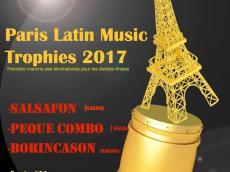 Salsafon, El Peque Combo et Borincason Concert Salsa le jeudi 16 novembre 2017, 75010 Paris