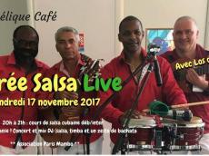 Los del Monte Concert Son cubain le vendredi 17 novembre 2017, 75011 Paris