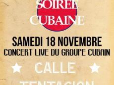 Calle Tentacion Concert Son cubain le samedi 18 novembre 2017, 95350 Saint-Brice-Sous-Forêt