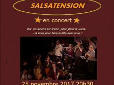 Salsatension Concert Salsa le samedi 25 novembre 2017, 94340 Joinville-le-Pont