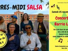 Barrio Luna Concert Son cubain le samedi 25 novembre 2017, 75020 Paris
