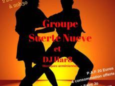 Suerte Nueve Concert Salsa le samedi 2 décembre 2017, 92140 Clamart