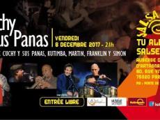 Cuchy y sus Panas Concert Salsa le vendredi 8 décembre 2017, 75020 Paris