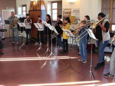 Atelier orchestre Mambo avec le conservatoire de L'Haÿ-les-Roses