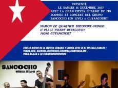 Sancocho Concert Salsa le samedi 16 décembre 2017, 78280 Guyancourt