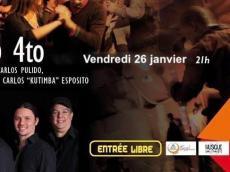 BaKoSó 4tet Concert Son cubain le vendredi 26 janvier 2018, 75020 Paris