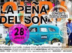 Sabor a Son Concert Son cubain le dimanche 28 janvier 2018, 93100 Montreuil