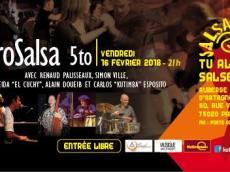 Sabrosalsa 5to Concert Salsa le vendredi 16 février 2018, 75020 Paris