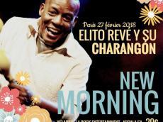 Elito Reve Concert Salsa cubaine le mardi 27 février 2018, 75010 Paris