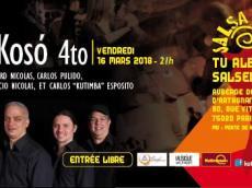 BaKoSó 4tet Concert Son cubain le vendredi 28 septembre 2018, 75020 Paris