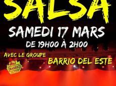 Barrio Del Este Concert Salsa le samedi 17 mars 2018, 78125 Poigny-la-Forêt