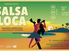 François Constantin Salsa project Concert Salsa le dimanche 18 mars 2018, 75011 Paris