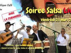 La Cubanerie Concert Son cubain le vendredi 23 mars 2018, 75011 Paris