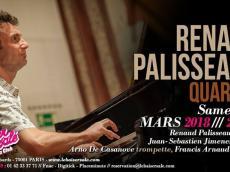 Renaud Palisseaux Quartet Concert Latin Jazz le samedi 24 mars 2018, 75001 Paris