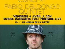 Fabio Deldongo Quintet Festival Acousti'danse #3 le vendredi 6 avril 2018,  94240 L'Haÿ-les-Roses