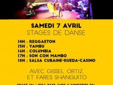 5h Stages Salsa Festival Acousti'danse #3 le samedi 7 avril 2018,  94240 L'Haÿ-les-Roses