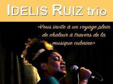 Idelis Ruiz trio Concert cubain le vendredi 4 mai 2018, 75020 Paris