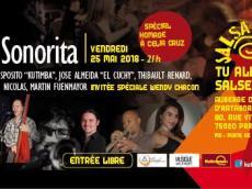 La Sonorita Concert Salsa le vendredi 25 mai 2018, 75020 Paris