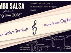 Salsa'Tencion Concert Salsa le samedi 26 mai 2018, 75020 Paris