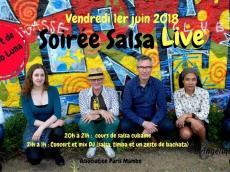 Barrio Luna Concert Son cubain le vendredi 1 juin 2018, 75011 Paris