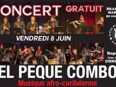 El Peque Combo Concert Salsa le vendredi 8 juin 2018, 91460 Marcoussis
