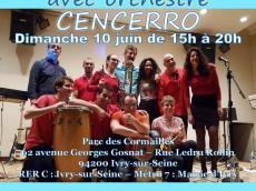 Cencerro Concert Salsa le dimanche 10 juin 2018, 94200 Ivry-sur-Seine