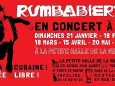 Rumbabierta Concert Rumba le dimanche 17 juin 2018, 75019 Paris
