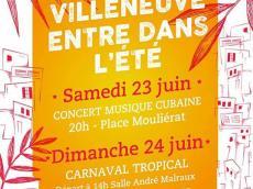 Luna y su Banda et Arriba Danza Concert Son cubain et salsa le samedi 23 juin 2018, 4190 Villeneuve-Saint-Georges