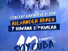 Alexander Abreu y Havana D'Primera Concert salsa le dimanche 24 juin 2018, 92240 Malakoff