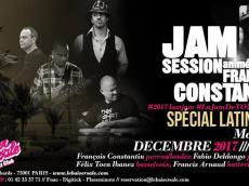 François Constantin Jam Session le mercredi 29 août 2018, 75001 Paris
