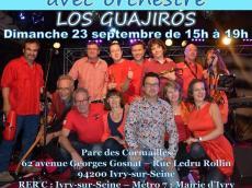 Los Guajiros Concert salsa le dimanche 23 septembre 2018, 94200 Ivry-sur-Seine