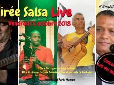 Los del Monte Concert Son cubain le vendredi 5 octobre 2018, 75011 Paris