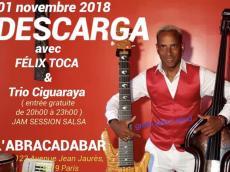 Descarga avec Felix Toca le jeudi 1 novembre 2018, 75019 Paris