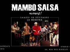 La Nuestra Concert Salsa le samedi 8 décembre 2018, 75020 Paris