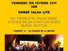 Soirée dansante d'ouverture Festival Acousti'danse le vendredi 1 février 2019,  94240 L'Haÿ-les-Roses