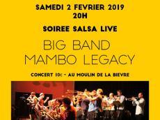Big Band Mambo Legacy Festival Acousti'danse le samedi 2 février 2019,  94240 L'Haÿ-les-Roses