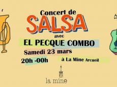 El Peque Combo Concert Salsa le samedi 23 mars 2019, 94110 Arcueil