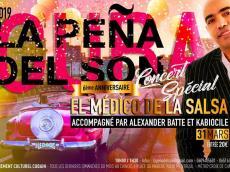 El Medico de la Salsa Concert Salsa le dimanche 31 mars 2019, 93100 Montreuil