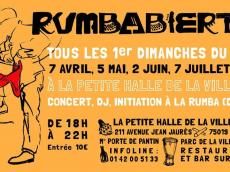 Rumbabierta Concert Rumba le dimanche 7 avril 2019, 75019 Paris