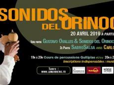 Gustavo Ovalles & SabroSalsa Concert Salsa le samedi 20 avril 2019, 93100 Montreuil
