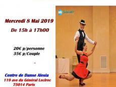 Stage de danse Son cubain et cha-cha-cha par Yalili Rodriguez et Ivan Martinez le mercredi 8 mai 2019, 75014 Paris
