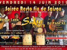 Barrio Luna Concert Son cubain le vendredi 14 juin 2019, 94800 Villejuif