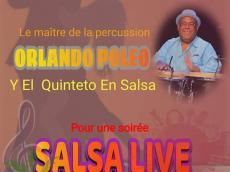 Orlando Poleo Concert Salsa le dimanche 18 août 2019, 75017 Paris