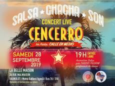 Cencerro Concert Salsa le samedi 28 septembre 2019, 93170 Bagnolet