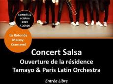 Tamayo Concert Salsa le samedi 12 octobre 2019, 77550 Moissy-Cramayel