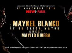Maykel Blanco y su Salsa Mayor Concert Salsa le mercredi 13 novembre 2019, 75010 Paris