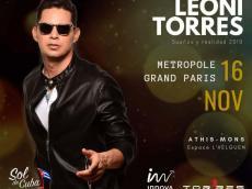 Leoni Torres Concert Salsa le samedi 16 novembre 2019, 91200 Athis-Mons