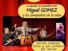 Miguel Gomez Orquesta Concert Salsa le samedi 16 novembre 2019, 77710 Lorrez-le-Bocage-Préaux